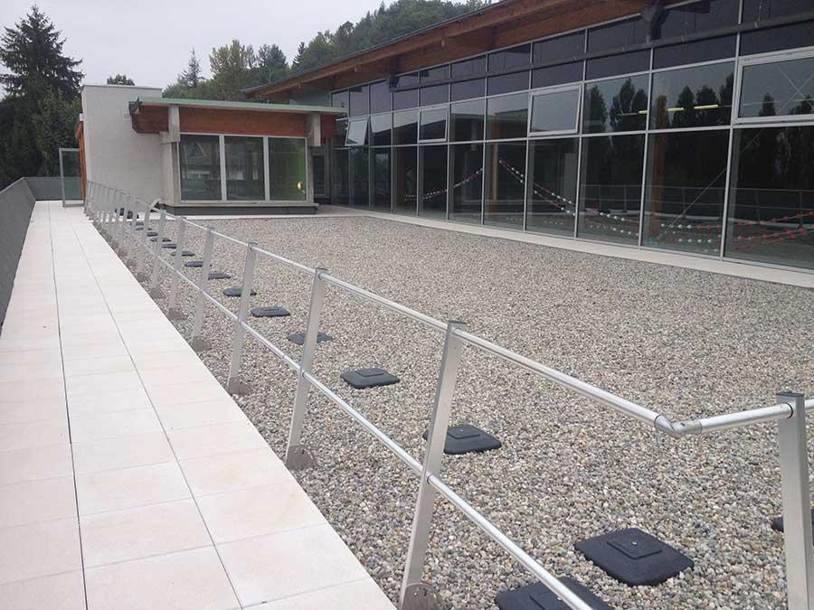 garde corps toiture terrasse affordable garde corps industriel pour toiture garde corps pour. Black Bedroom Furniture Sets. Home Design Ideas